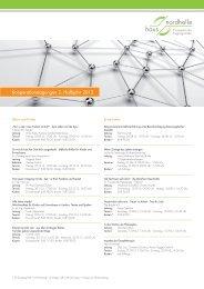 Kooperationstagungen 2. Halbjahr 2012 (PDF) - Haus Nordhelle