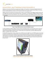 980 Application Note HDBaseT - Quantum Data