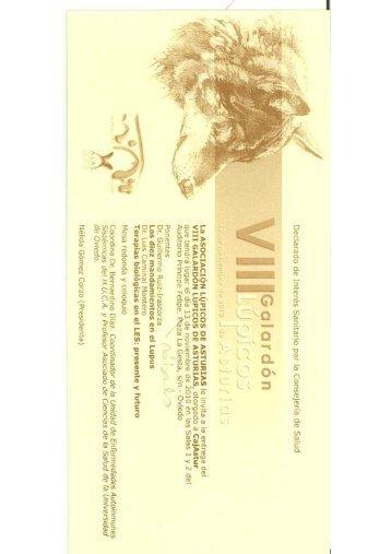 Lupus Asturias (pdf) - Cajastur