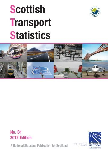 Scottish Transport Statistics No 31: 2012 Edition - Transport Scotland