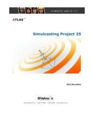 Simulcasting Project 25 - EFJohnson
