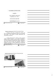 ALVENARIA ESTRUTURAL - projeto -