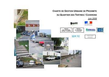 charte de gestion urbaine de proximite - Bagneux
