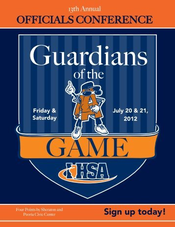 OFFICIALS CONFERENCE - Illinois High School Association
