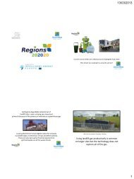 Using landfill gas productively is common on ... - Regions 202020