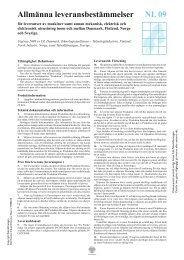Allmänna leveransbestämmelser NL 09 - Teknikföretagen