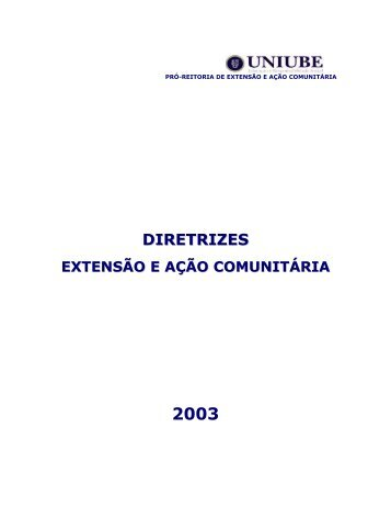 DIRETRIZES - Uniube
