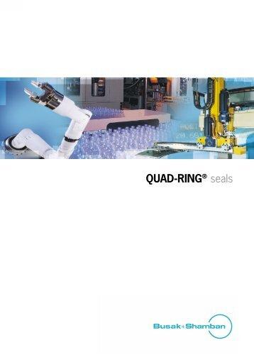 Complete catalogue QUAD-RING® seals