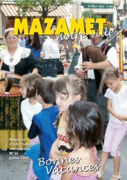 notre ville Bonnes Vacances Bonnes Vacances - Mazamet