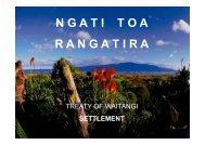 N G A T I    T O A R A N G A T I R A - Ngāti Toa Rangatira