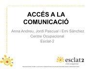 l'accés a la comunicació - Associació Esclat