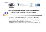 Short-term effects of ozone on out-of-hospital coronary deaths: a ...