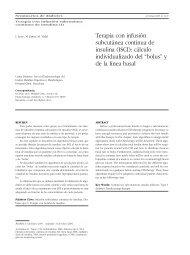 Terapia con infusión subcutánea continua de insulina (ISCI): cálculo ...