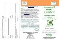 Flyer EFFEKT 27 -30 10 08 - Haus Nordhelle