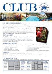 Advertising Rates - Hong Kong Football Club