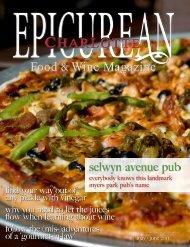selwyn avenue pub - Epicurean Charlotte Food & Wine Magazine