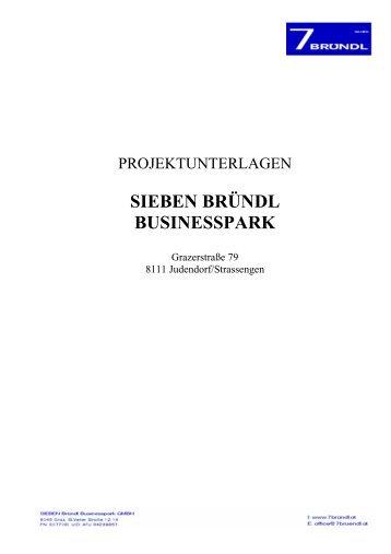 PROJEKT Beschreibung Businesspark - 7 bründl   Businesspark