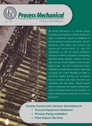 Literature - Industrial Piping, Inc.