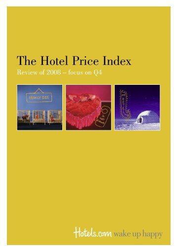 The Hotel Price Index - Hotels.com Press Room