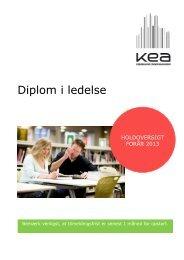 Diplom i ledelse - KEA