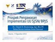 Prospek Pengawasan Implementasi UU SJSN - Manajemen Rumah ...