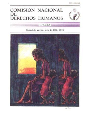 E»; - Comisión Nacional de los Derechos Humanos