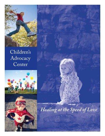 2009 Annual Report - Children's Advocacy Center