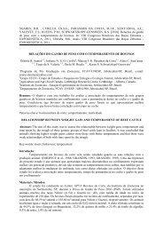 avaliação de temperamento em novilhos de corte e sua ... - ETCO