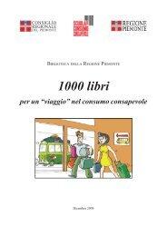 """1000 LIBRI per un """"viaggio"""" nel consumo consapevole - Consiglio ..."""