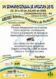 xiv seminário estadual de apicultura - Apinews
