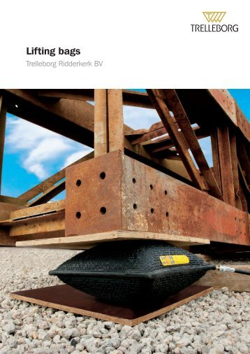Lifting Bags - Trelleborg - Pneumatic Technology, Inc