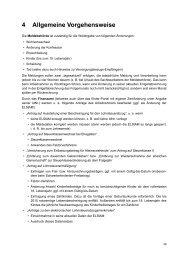 4 Allgemeine Vorgehensweise - Buchhandel.de