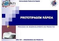 PROTOTIPAGEM RÁPIDA - Carlosmello.unifei.edu.br