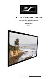 Elite Ez-Frame Series