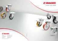 Castors and wheels - CDM - Elesa