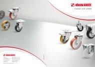 Castors and wheels - CDM - Elesa