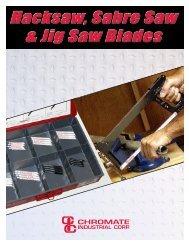 Hacksaw, Sabre Saw & Jig Saw Blades Hacksaw, Sabre Saw & Jig ...