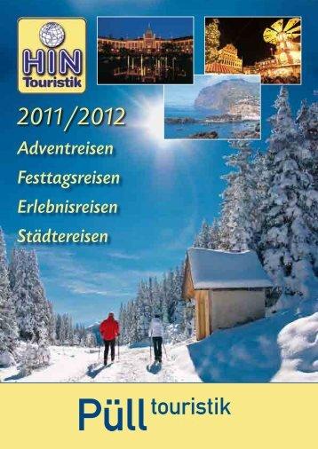 2011/2012 - Püll Touristik Novesia-Tours-GmbH Busreise ...