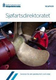 Om Sjøfartsdirektoratet – inklusiv strategiplan 2012-2015