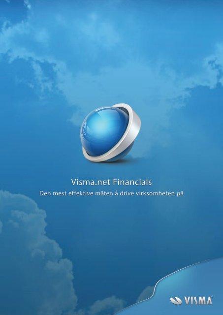 Brosjyre Visma.net Financials - Proplan AS