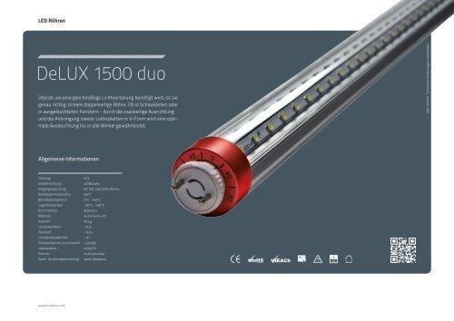 DeLUX 1500 duo - Lichtline