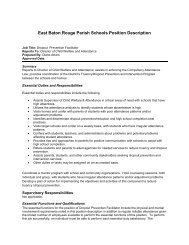 Dropout Prevention Facilitator