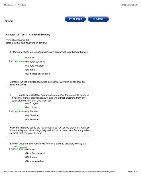 Chapter 12 Practice Quiz 1 With Answers pdf