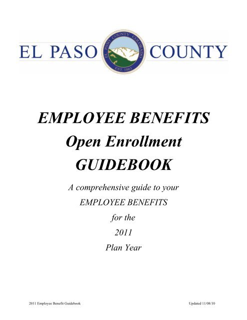 2011 Benefits Guidebook Final to Post - Administration Home