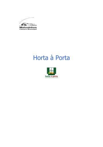 acordo utilização hortas biologicas - Câmara Municipal de Matosinhos