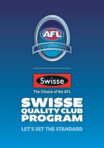 Swisse Quality Club Program Booklet.pdf - AFL Community