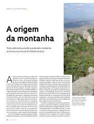 A origem da montanha - Revista Pesquisa FAPESP