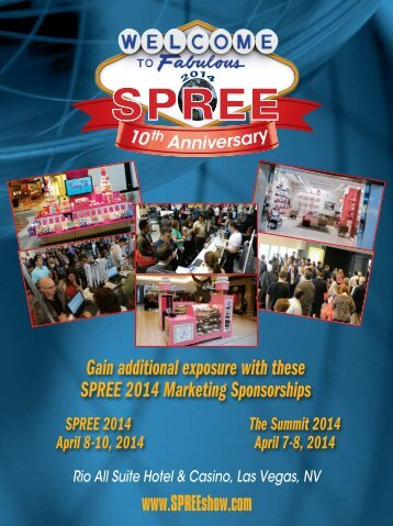 Download the Sponsorship Brochure Now - SPREE