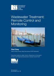 Wastewater Treatment: Remote Control and Monitoring
