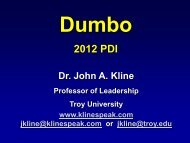 103. How to Motivate Yourself and Others - PDI 2012